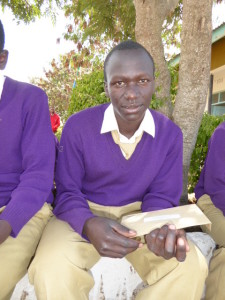 August 2014 - at Moita Secondary Boarding School