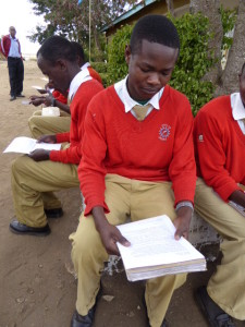 At Moita Secondary School - August 2014